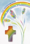 Kommunionkarte Handschmeichler Zur Erstkommunion (3 Stck) Grußkarte Kuvert