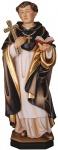 Heiliger Johannes vom Kreuz mit Kreuz Holzfigur geschnitzt Südtirol Schutzpatron