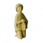 Hirtenjunge kniend Bauer-Krippe 17 cm handgeschnitzt Krippen Figur Weihnachten
