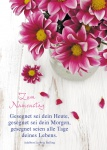 Postkarte Zum Namenstag (10 St) Blumen in der Vase Adalbert Ludwig Balling