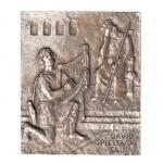 Namenstag David Bronze 13 x 10 cm Wandrelief