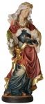 Heilige Agatha Holzfigur geschnitzt Südtirol Schutzpatronin Jungfrau Märtyrerin