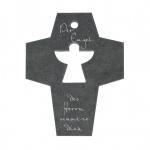 Wandkreuz Schiefer Der Engel des Herrn 10 cm Kreuz Kruzifix Christlich