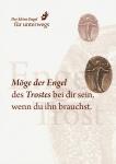 Engel des Trostes Bronzeplakette mit Kärtchen Schutzengel Geschenke