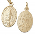 Wunderbare Wundertätige Medaille goldfarben 1, 9 cm