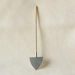 Spitzschaufel handgefertigt 18 cm Zubehör für Weihnachtskrippe