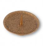 Kerzenleuchter Bronze 12 cm Kerzenhalter Kerzenteller