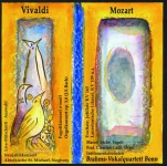 Vivaldi - Mozart, Audio-CD mit Booklet