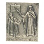 Namenstag Mechthild Bronzeplakette 13 x 10 cm Namenstag Geschenk