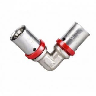 Pressfitting für Aluverbundrohr 16, 20mm Mehrschichtverbundrohr Verbundrohr PEX (Type: Winkel â??16)
