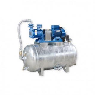 Hauswasserwerk 1, 1 kW 230V 91 l/min 150L Druckbehälter verzinkt Druckkessel Set Wasserpumpe Gartenpumpe (Volumen: 200 L, Netzanschluss: 230 V)
