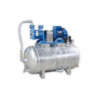 Hauswasserwerk 1, 1 kW 230V 91 l/min 150L Druckbehälter verzinkt Druckkessel Set Wasserpumpe Gartenpumpe (Volumen: 200 L, Netzanschluss: 400 V)