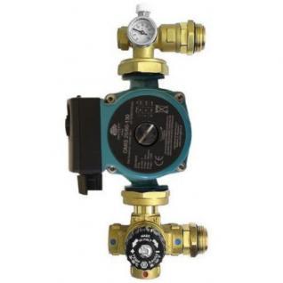 Omni Festwertregelset für Fußbodenheizung mit Pumpe 25 60 130