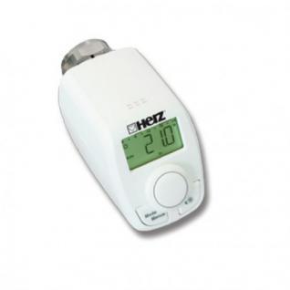 Elektronischer Thermostatkopf HERZ Thermostat M 28x1, 5 Kopf Ventil Heizung Heizkörper Fühler