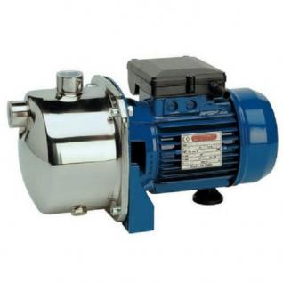 Wasserpumpe 0, 55 bis 0, 75 kW 230V Jetpumpe Gartenpumpe Hauswasserwerk Kreiselpumpe (Leistung: 600 W)