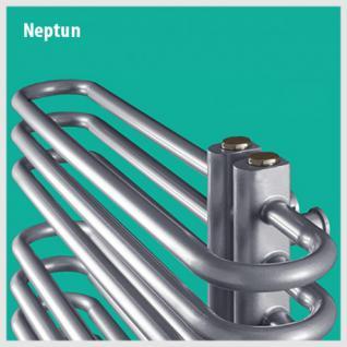NEPTUN Anthrazit - Badheizkörper Handtuchheizkörper Handtuchheizung (Höhe: 1400 mm, Breite: 500 mm) - Vorschau 3