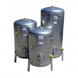 Druckbehälter 100L bis 300L 9 bar senkrecht verzinkt Druckkessel verzinkt für Hauswasserwerk senkrecht (Volumen: 200 L)