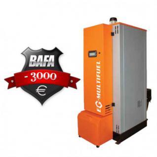 Biomasseheizung 30 bis 200 kW Biomassekessel Hackschnitzel Pelletskessel Pelletofen (Leistung: 80 kW)