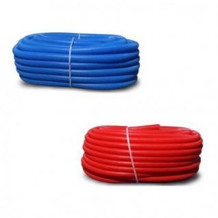 Wellrohr Leerrohr 18/22 blau, rot für Alu-Verbundrohr oder kabel UVP (Farbe: Rot)