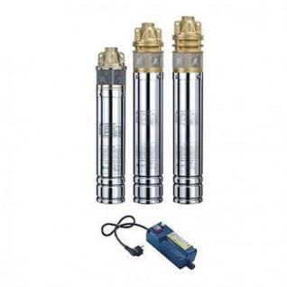 Tiefbrunnenpumpe Tauchpumpe 750-1500W Edestahl Brunnenpumpen UVP (Verpackungseinheit: SKM-100 230V)