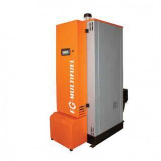 Biomasseheizung 30 bis 200 kW Biomassekessel Hackschnitzel Pelletskessel Pelletofen (Leistung: 60 kW)