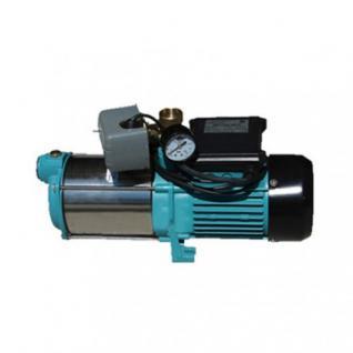 Wasserpumpe 1300 bis 2500W Jetpumpe Gartenpumpe Hauswasserwerk Kreiselpumpe Set (Typ: MHI 1800 INOX OSPRZ)