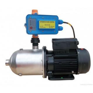 Wasserpumpe 1500W 110l/min Pumpensteuerung Trockenlaufschutz Inox Jetpumpe Gartenpumpe Hauswasserwerk Kreiselpumpe