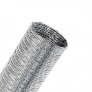Alu-Flex-Rohr ß 80 bis 200 x 2, 7m (Durchmesser: 160)