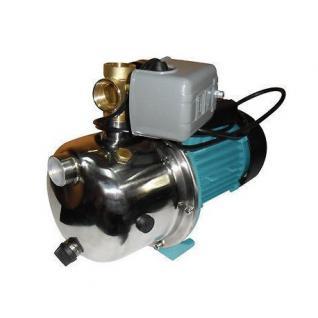 Wasserpumpe 1100W 60l/min Jetpumpe Gartenpumpe Hauswasserwerk Kreiselpumpe Set