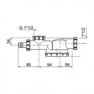 Niedriges Siphon Modell Espace und Universal Siphon Set - Vorschau 3