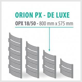 Orion Premium Weiß - Badheizkörper Handtuchheizkörper Handtuchheizung Handtuchheizer (Höhe: 800 mm, Breite: 575 mm)