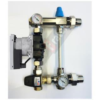 Wilo Festwertregelset für Fußbodenheizung mit Pumpe Herz Thermostat