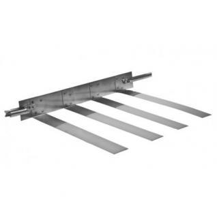 Montageschelle aus Edelstahl erhältich in den Durchmessern von DN 60 mm bis 300 mm (Durchmesser: 130)