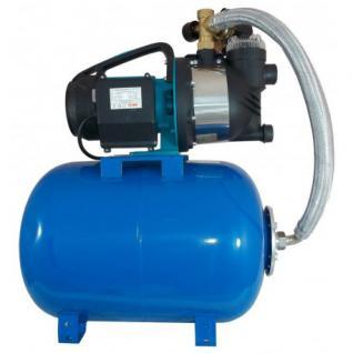 Wasserpumpe 1300W 80l/min 24 L Druckkessel inkl. Filter Jetpumpe Gartenpumpe Hauswasserwerk Kreiselpumpe