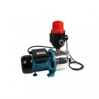 Wasserpumpe 1100W 60l/min Jetpumpe Gartenpumpe Hauswasserwerk Kreiselpumpe B