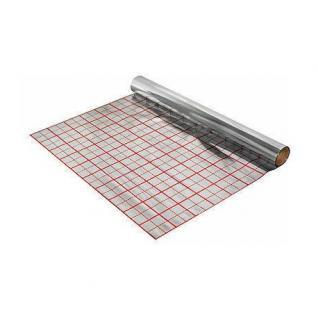 Rasterfolie Folie für Fußbodenheizung 50m2