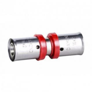 Pressfitting für Aluverbundrohr 16, 20mm Mehrschichtverbundrohr Verbundrohr PEX (Type: ßbergang â??20)