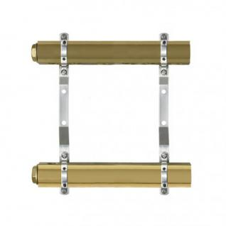 Messing FB- Heizkreisverteiler für 2 bis 12 Heizkreise (Anzahl Heizkreise: 12) - Vorschau 1