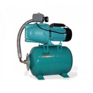 Wasserpumpe 60 l/min 1, 1 kW 230V 100 l Druckbehälter, Druckschalter, Manometer Jetpumpe Gartenpumpe Hauswasserwerk Kreiselpumpe