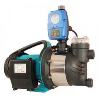 Wasserpumpe 1300W 80l/min inkl. Filter Trockelaufschutz Jetpumpe Gartenpumpe Hauswasserwerk Kreiselpumpe