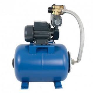 Wasserpumpe 750W 50 l/min inkl. 100 L Druckschalter Gartenpumpe Hauswasserwerk Kreiselpumpe