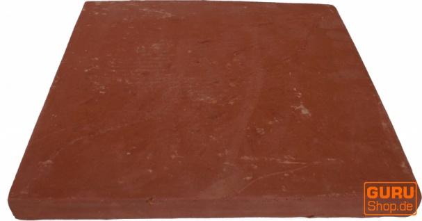 Handgemachte Terracotta Fliesen 30*30cm 1 Paket = 8 Fliesen bzw 0.72 m² - Vorschau 3