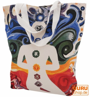 Mirror Shopper Tasche, Einkaufstasche, Strandtasche - Chakra