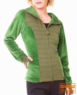 Jacke aus Bio-Baumwolle / Chapati Design - green