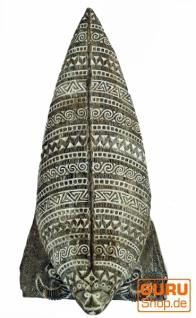 Osttimor Maske, Ethno Maske, geschnitzte Maske - Modell 4