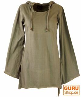 Elfen Shirt Goa-chic, Elfentunika - beige