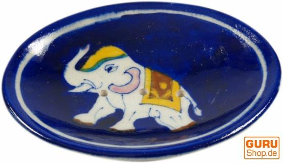 Handbemalte Keramikseifenschale Nr. 9