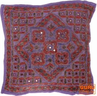 Kissenhülle, Orient Kissenbezug, bestickter Dekokissen Bezug - Muster 17