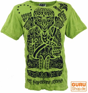 Sure T-Shirt Tribal Ganesha - lemon