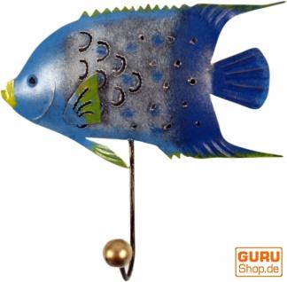 Kleiner Garderobenhaken, Metall Kleiderhaken - Fisch 2